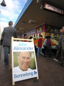 Diversity made invisible in 2010 Australian federal election. John Alexander