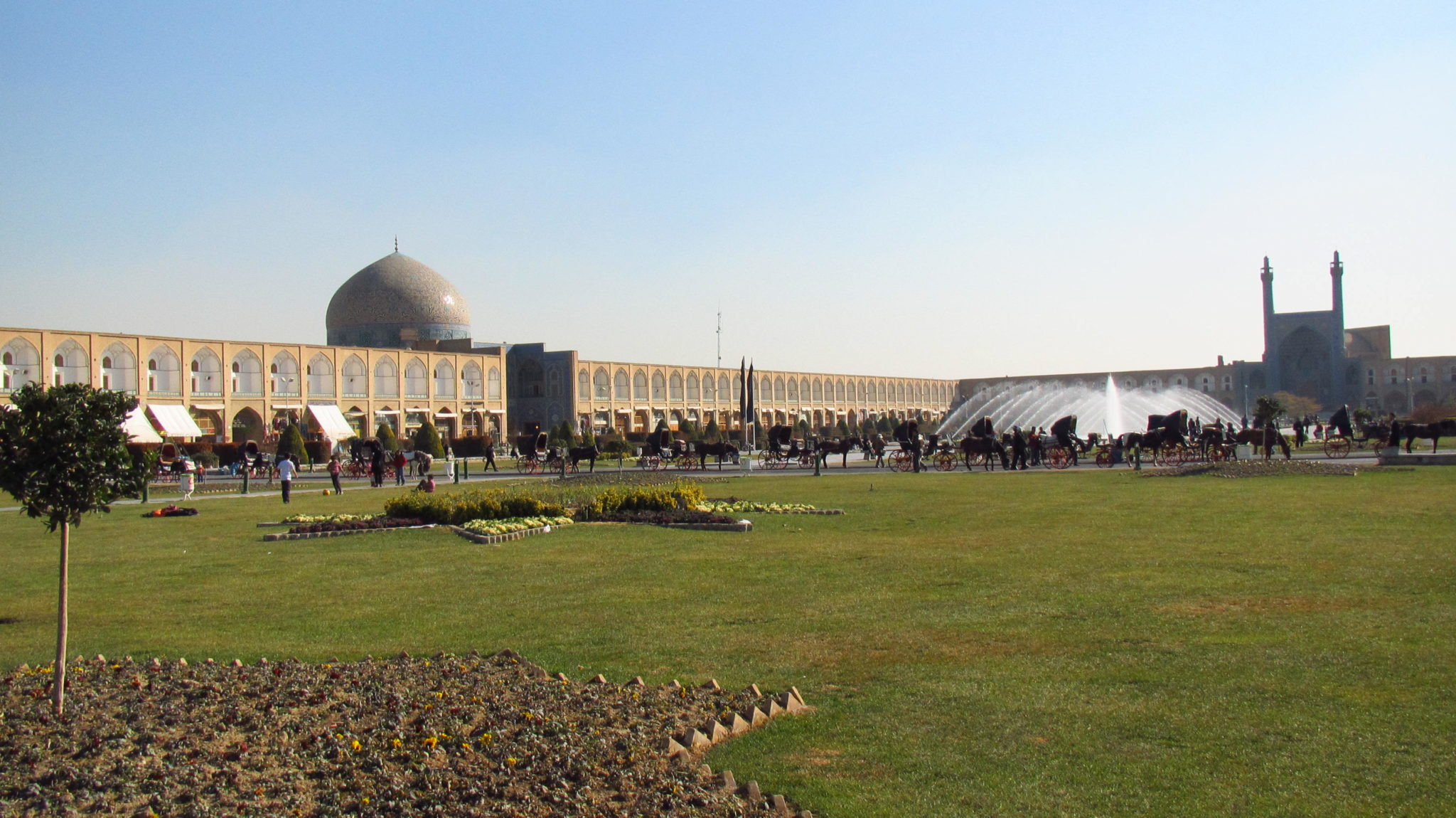 Returning to Isfahan
