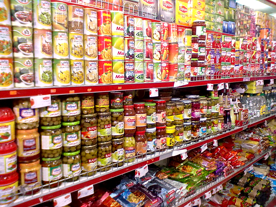 Intercultural grocery shopping