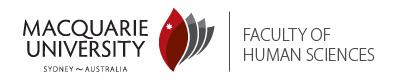 Macquarie University Sponsor