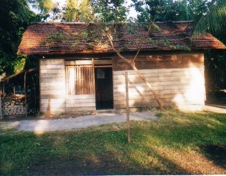 The house of the English high school teacher in the village in Sulawesi where Pasassung conducted his fieldwork
