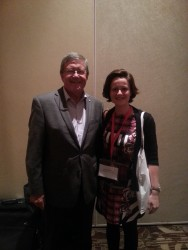 Laura Smith-Khan with Hon Chief Justice Wayne Martin AC