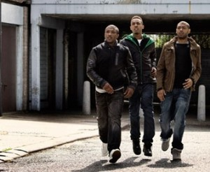 """""""Naughty boys"""" in the media: image from the Channel 4 gangs and drugs drama """"Top Boy"""""""