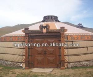 'Luxury permanent' Mongolian yurt for sale on Alibaba