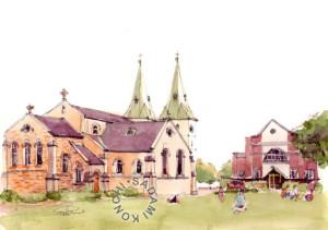 Parramatta Anglican Church (©Sadami Konchi)